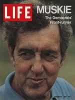 Life Magazine, November 5, 1971 - Edmund Muskie