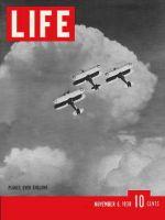 Life Magazine, November 6, 1939 - English air defense