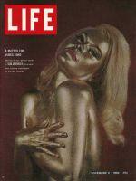 Life Magazine, November 6, 1964 - Actress Shirley Eaton