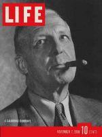 Life Magazine, November 7, 1938 - 1938 Elections
