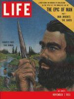 Life Magazine, November 7, 1955 - Man's beginnings, caveman