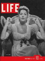 Life Magazine, November 8, 1937 - Greta Garbo