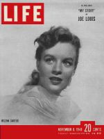 Life Magazine, November 8, 1948 - Starlet fencer