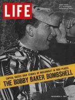 Life Magazine, November 8, 1963 - Bobby Baker scandal