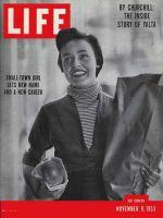 Life Magazine, November 9, 1953 - Jill Corey