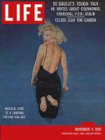 Life Magazine, November 9, 1959 - Marilyn Monroe jumping