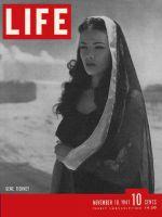 Life Magazine, November 10, 1941 - Gene Tierney