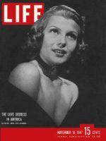 Life Magazine, November 10, 1947 - Rita Hayworth