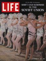 Life Magazine, November 10, 1967 - Leningrad music hall girls, U.S.S.R.