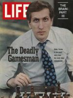 Life Magazine, November 12, 1971 - Chess champion Bobby Fischer