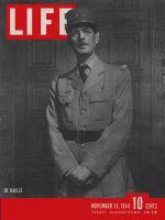 Life Magazine, November 13, 1944 - General De Gaulle