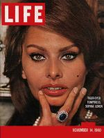 Life Magazine, November 14, 1960 - Sophia Loren