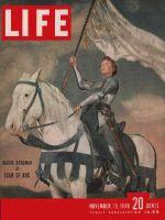Life Magazine, November 15, 1948 - Ingrid Bergman
