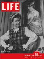 Life Magazine, November 16, 1942 - Vests in fashion