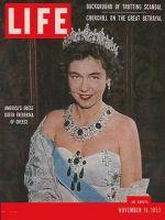 Life Magazine, November 16, 1953 - Greece's queen