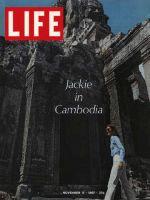 Life Magazine, November 17, 1967 - Jacqueline Kennedy in Cambodia