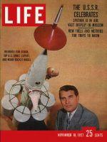 Life Magazine, November 18, 1957 - Wernher von Braun