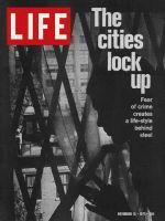 Life Magazine, November 19, 1971 - Window barred to keep out crime