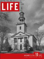 Life Magazine, November 20, 1944 - Rural Thanksgiving