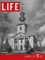 Life Magazine, November 20, 1944 - Rural Thanksgiving