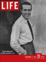 Life Magazine, November 21, 1949 - Ricardo Montalban