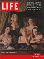 Life Magazine, November 21, 1955 - Broadway talent