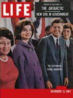 Life Magazine, November 21, 1960 - Winner Kennedys