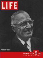 Life Magazine, November 22, 1948 - Truman's victory