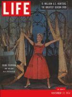 Life Magazine, November 22, 1954 - Judy Holliday