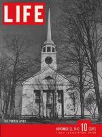 Life Magazine, November 23, 1942 - The puritan spirit, church