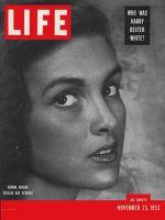 Life Magazine, November 23, 1953 - Art student