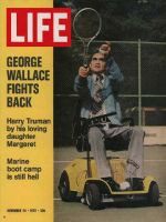 Life Magazine, November 24, 1972 - George Wallace on the mend