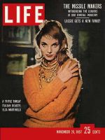 Life Magazine, November 25, 1957 - Lisa Martinelli