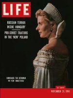 Life Magazine, November 26, 1956 - Ingrid Bergman