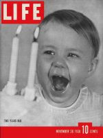 Life Magazine, November 28, 1938 - Life is two years old