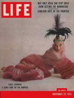 Life Magazine, November 28, 1955 - Carol Channing