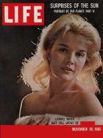 Life Magazine, November 28, 1960 - Carroll Baker