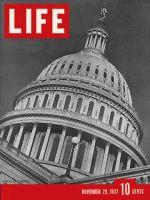 Life Magazine, November 29, 1937 - U.S. Capitol