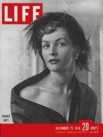 Life Magazine, November 29, 1948 - Restaurant fashions