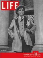 Life Magazine, November 30, 1942 - Future draftee