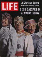 Life Magazine, November 30, 1962 - Sid Caesar in Little Me