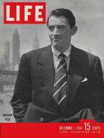 Life Magazine, December 1, 1947 - Gregory Peck