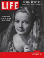 Life Magazine, December 1, 1952 - French actresses