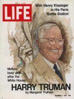 Life Magazine, December 1, 1972 - Harry S. Truman