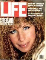 Life Magazine, December 1, 1983 - Barbra Streisand in Yentl