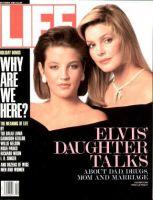 Life Magazine, December 1, 1988 - Lisa Marie Presley and Mom