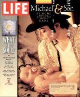 Life Magazine, December 1, 1997 - Michael Jackson And Son
