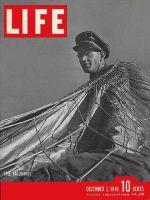 Life Magazine, December 2, 1940 - Balloonist