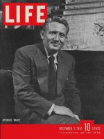 Life Magazine, December 3, 1945 - Spencer Tracy