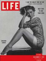 Life Magazine, December 3, 1951 - Christmas lingerie, fashion